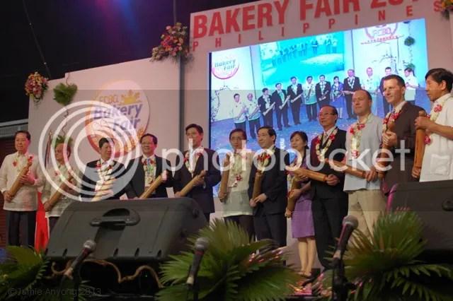 Bakery Fair 2013 opening ceremony