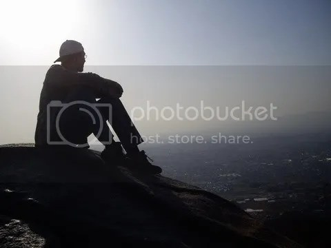 On top of Mt. Kono