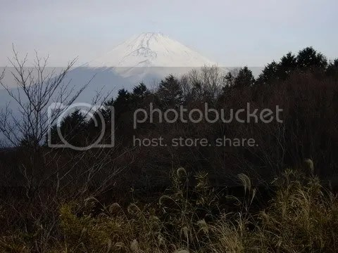 Fuji in the distance