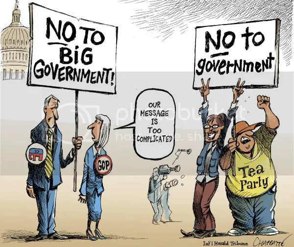 Image result for republican anti government cartoons