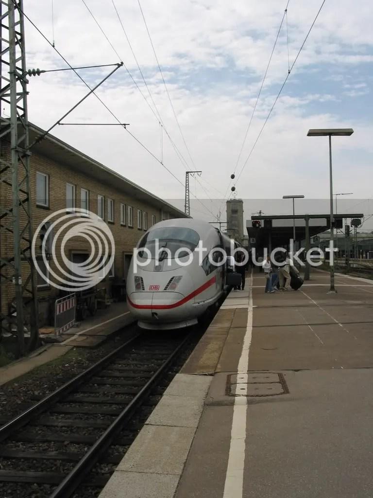ICE 3 In Stuttgart
