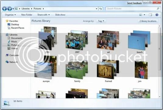 Fitur libraries Windows 7