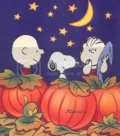 Its time for the Great Pumpkin!
