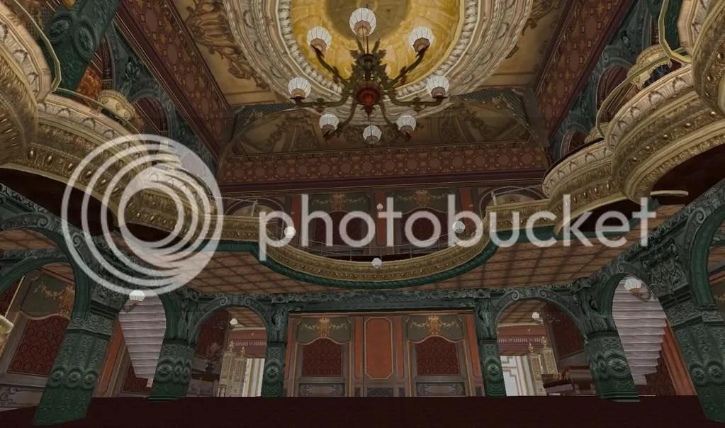 Gaiety - ceiling