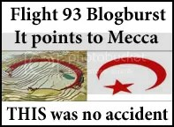 It points to Mecca!