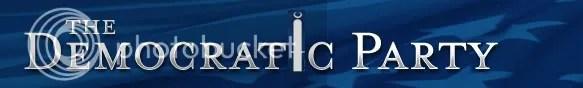 Democratic Party logo with ISNA minaret