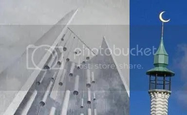 Flight 93 Tower and Uppsala mosque