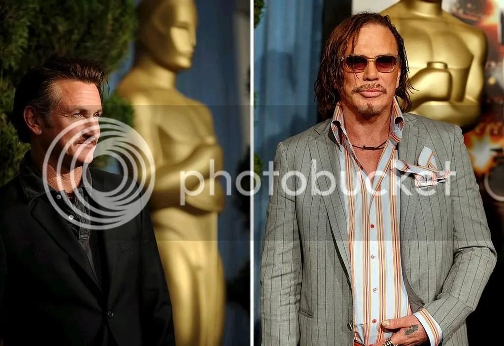 Sean Penn e Mickey Rourke