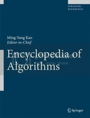 Encyclopedia of Algorithms - Ming-Yang Kao