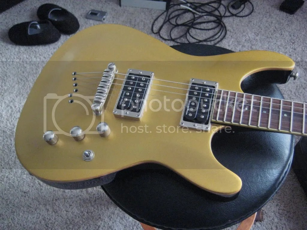 Fs Ft Gold Top Ibanez Sz320