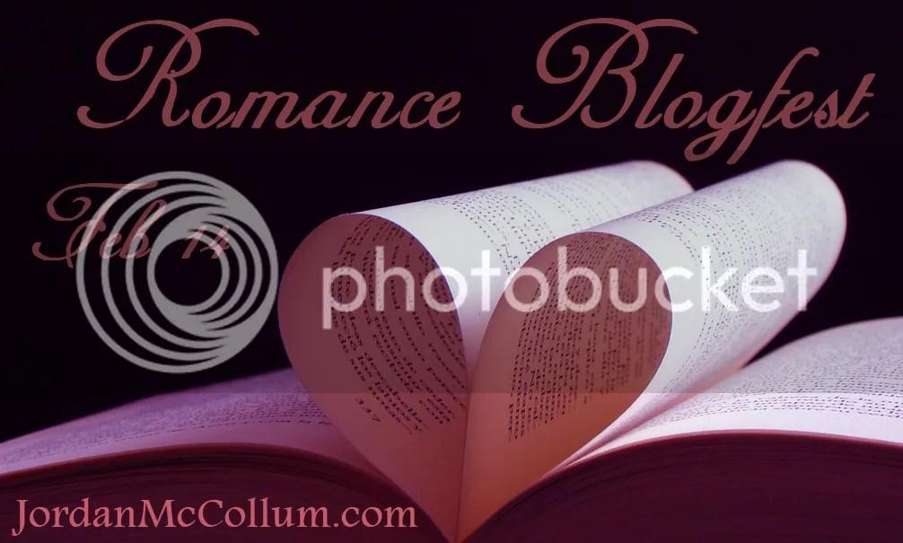 romance blogfest badge