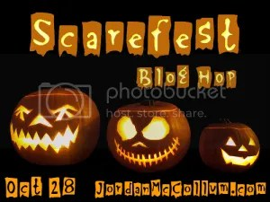 halloween scarefest badge