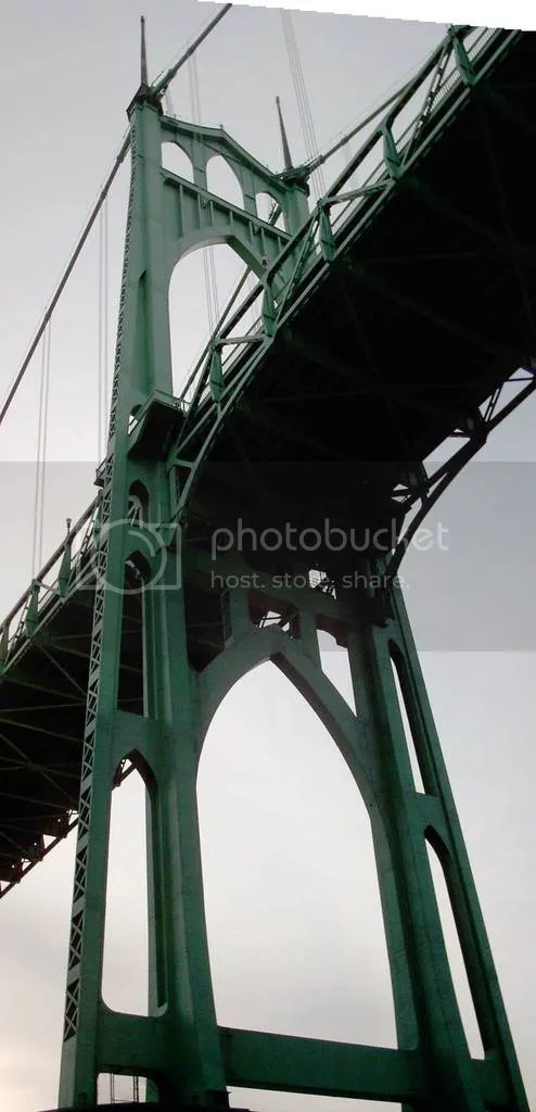 St Johns Bridge Tower
