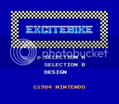 Intro del glorioso Excite Bike