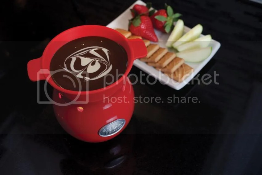 chocolate fondue photo: Velata Chocolate Fondue Velata-Warmer-with-chocolate-image.jpg