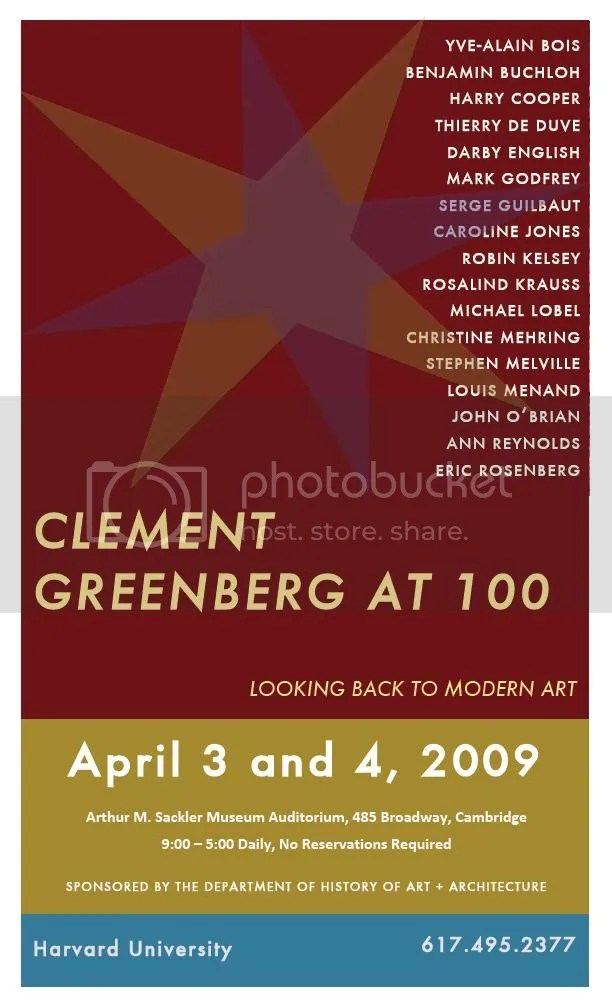 Clement Greenberg at 100
