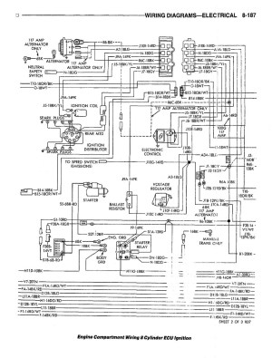 81 Dodge 8cylinder ECU Ignition Wiring Diagram Photo by