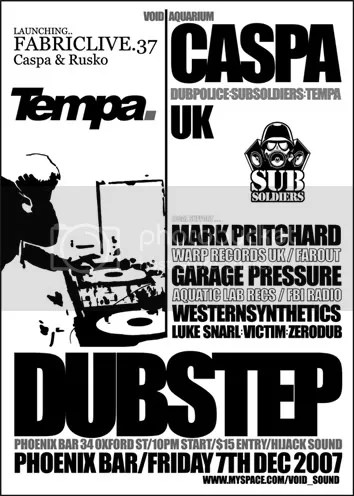 Dubstep/breakstep@The Phoenix Bar