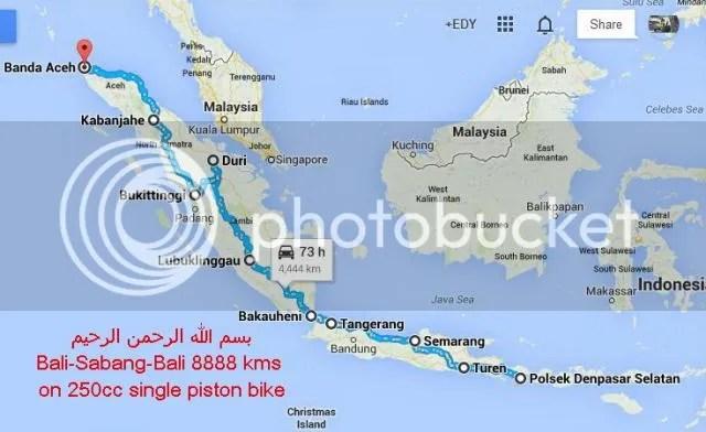 Denpasar-Sabang-Denpasar