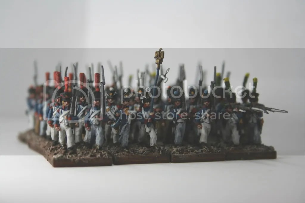 French Line Infantry - 18mm AB Figures