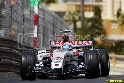Anthony Davidson at Monaco 2004