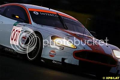 Aston Martin at the 2008 Le Mans 24h