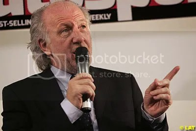 David Richards at the Autosport International Show