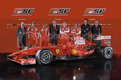 F60 with all Senior Staff and drivers