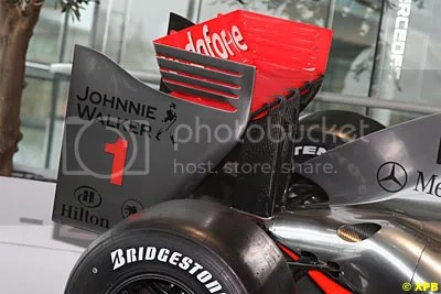 Rear wing detail