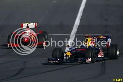 Kimi Raikkonen and Mark Webber both had bad days