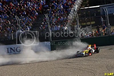 Piquet crashed
