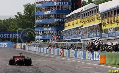 Imola, just amazing and totally synonymous with F1