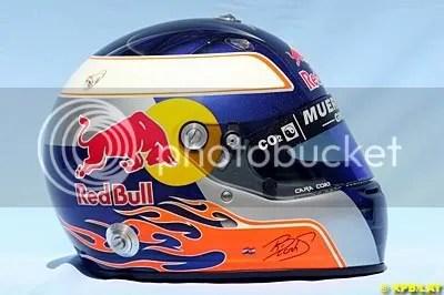 Robert Doornbos F1 Helmet