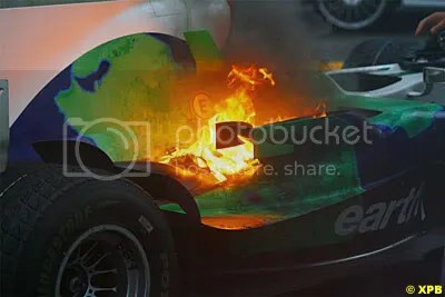 After the final GP, Brazil 2008 one of the engines just gives up