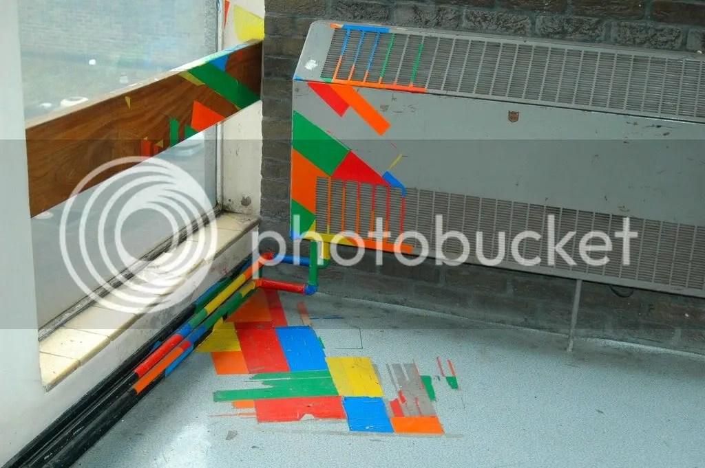 C Block stairs