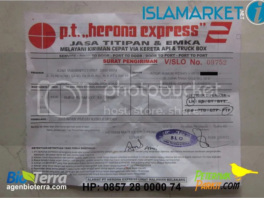 Resi Pak Atok Ainur Ridho Jember | 2 November 2012