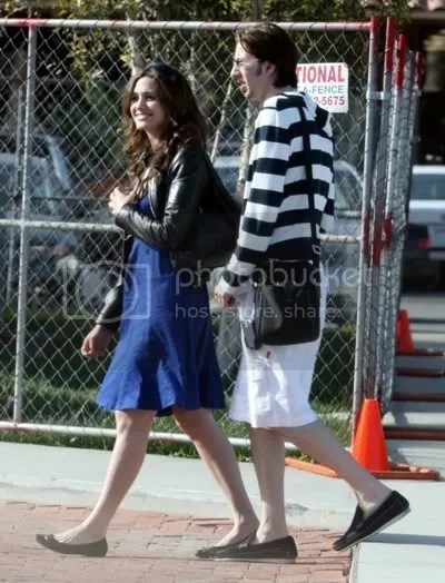 Emmy Rossum and boyfriend