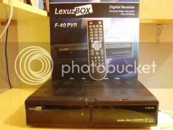 Lexuzbox F36 F38 e F40 atualização