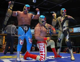 new champs/Fuego en el Ring