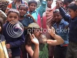Chinmaya and Khati village kids