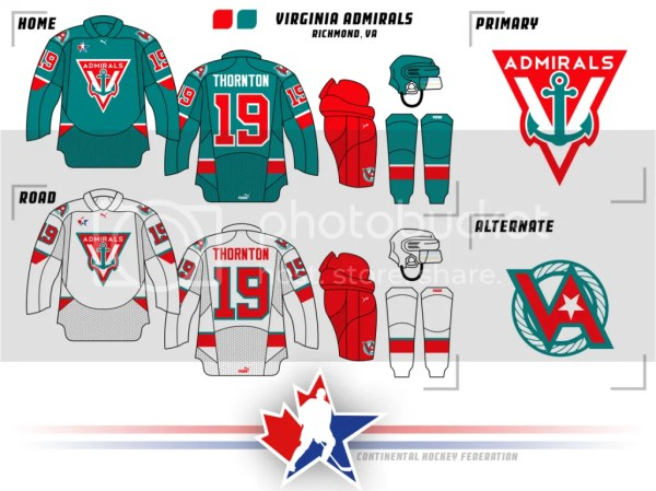 Continental Hockey Federation (Washington Added) - Page 3 ...