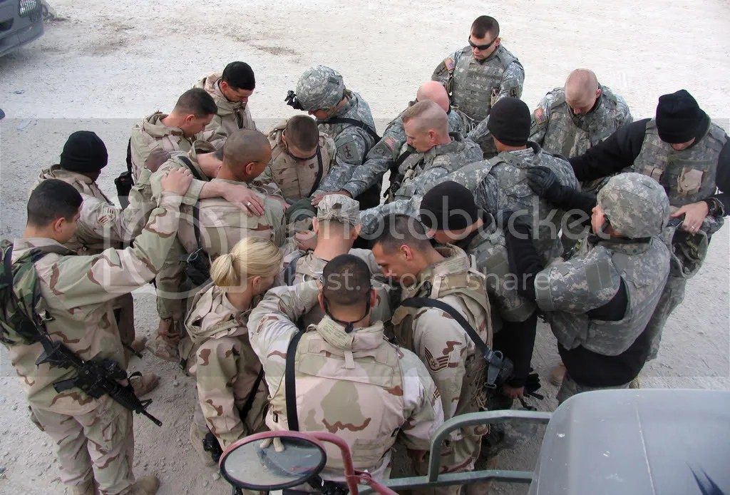 Soldiers prayer