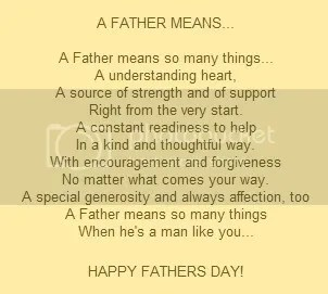 A Father Means...