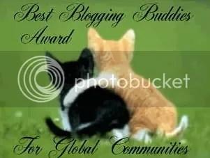Best Blogging Buddies Award