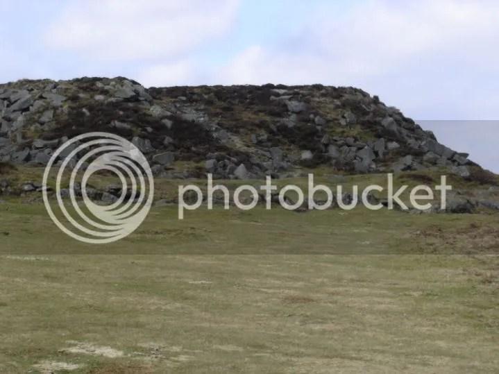 Piles of Granite Blocks from Quarry