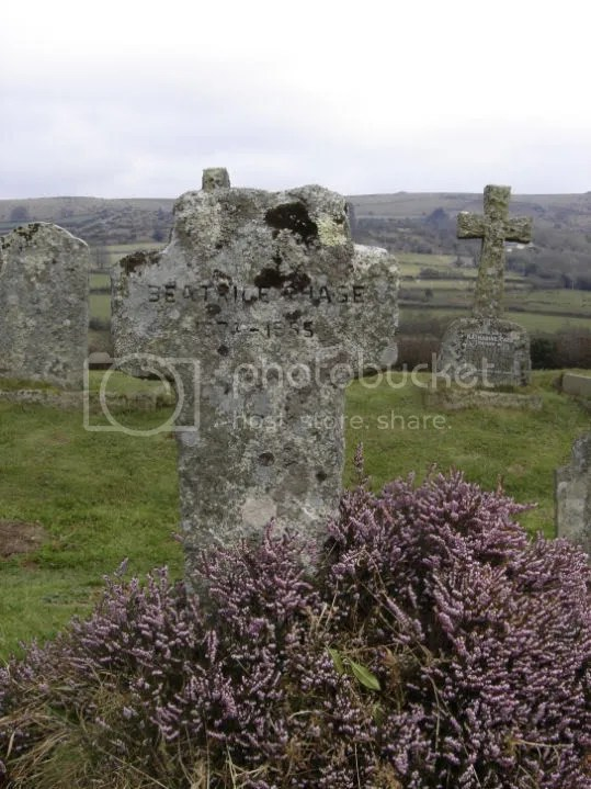 Headstone of Beatrice Chase -The Lady In The Moor