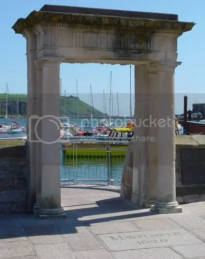 Mayflower Steps, Plymouth, UK