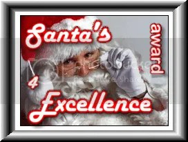Santa Award 4 Excellence