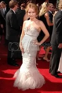 Becki Newton at Emmy Award 2007