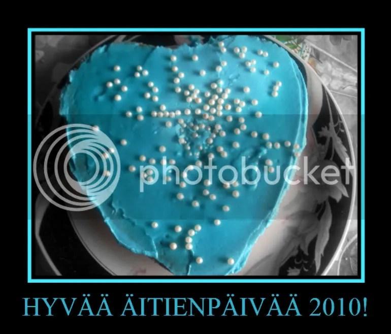 Äitienpäivä 2010 - kakku